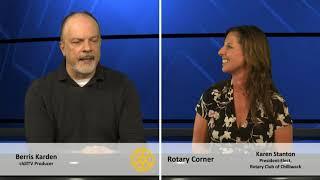 """Rotary Corner:  """"President-Elect, Karen Stanton"""", October 7, 2020"""