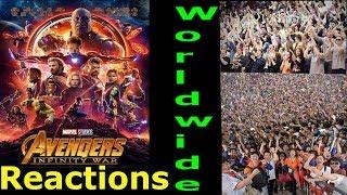 Avengers Infinity War Worldwide Reactions in Theatres