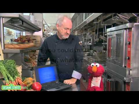 Art Smith and Elmo interview for Food for Thought