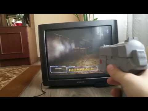 Resident Evil Survivor + Namco Light Gun PSX