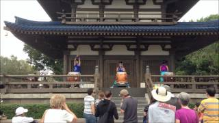 Matsuriza Drummers at the Japan Pavilion in Epcot