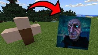 КАК СКРАФТИТЬ ДЕДУШКА ГРЕННИ в Майнкрафт! Дед Granny Троллинг Мультик Хоррор Игра Minecraft Grandpa