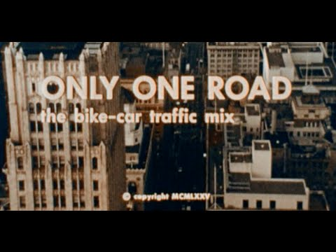 Only One Road: The Bike/Car Traffic Mix (AAA, 1975) (FULL VERSION)
