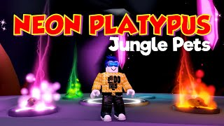 Neon Platypus - Adopt Me Jungle Pets Update (ROBLOX)