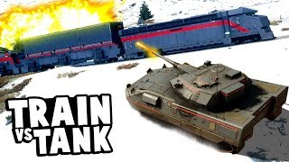 Can a Tank Derail an Armored Train in Just Cause 4?