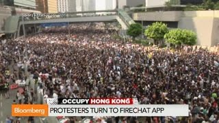 Occupy Hong Kong: Protesters Turn to FireChat App