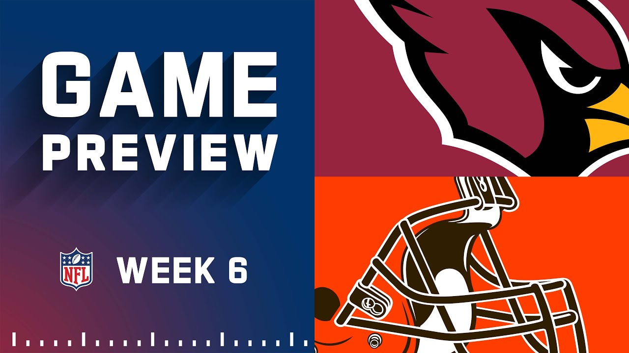 Download Arizona Cardinals vs. Cleveland Browns   Week 6 NFL Game Preview