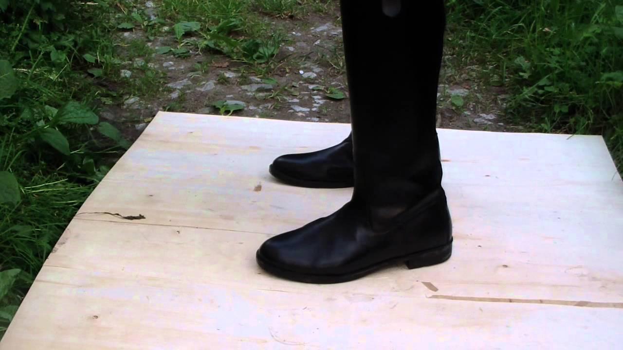 Boots trampling
