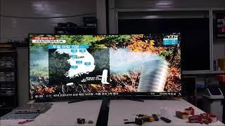105인치 LGIPS패널 커브드 대형TV 대형티브