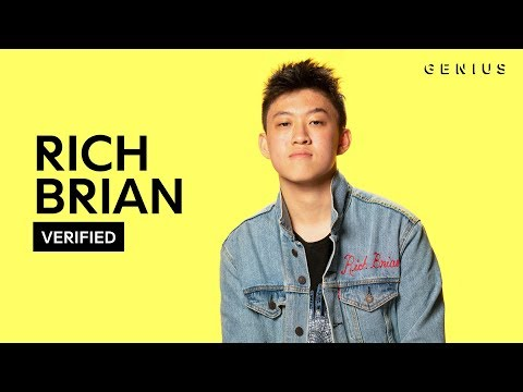 Rich Brian History  Lyrics & Meaning  Verified