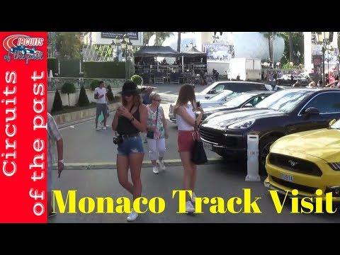 Monaco Grand Prix Circuit - Track Visit - Circuit Tour 2017