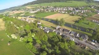 Ozone Buzz Z4 Flying in Luxemburg Diekirch August 2014