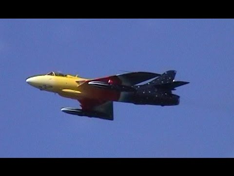 "Hawker Hunter Jet Fighter! – Missing ""Miss Demeanour"" - Archive 2001"