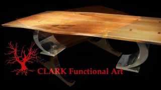 Custom-made Tables, Bases And Legs By Tony Clark