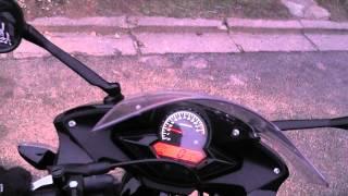 cbr 125 r 2011 speed test 121 km h