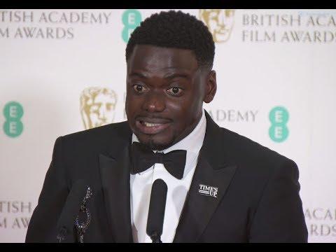 Daniel Kaluuya Has a Message for Ashley Walters - Hilarious Bafta Winner's Speech