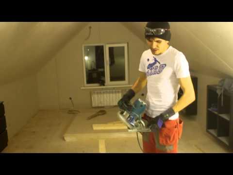 видео: Мансарда Скошенные потолки из ГКЛ/ Проблемы и их решение