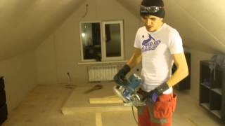 Мансарда Скошенные потолки из ГКЛ/ Проблемы и их решение(, 2014-04-15T15:43:17.000Z)
