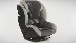 LCP Kids WEGA-X Reboarder Kindersitz mit Isofix Base 0 bis 18 kg