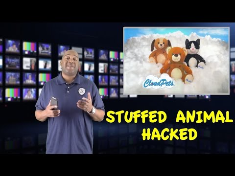 CloudPet Stuffed Animal Toys Have Been Hacked | Cloud Pet Toy