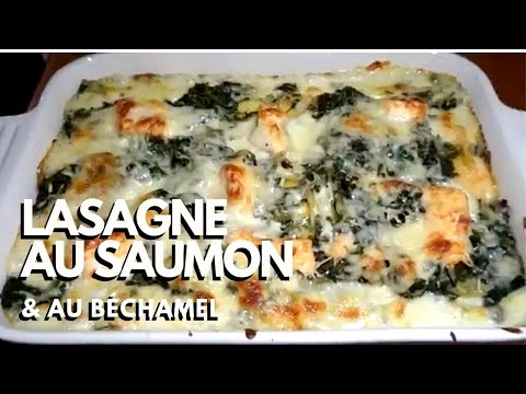 lasagnes-au-saumon,-sauce-béchamel-&-épinards---recette-#22