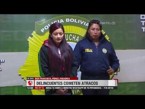 Atracadores en la ciudad de La Paz escogen el centro para cometer sus fechorías
