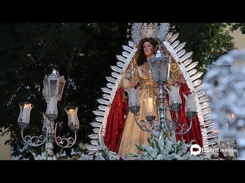 VÍDEO: Algunas imágenes de la procesión de la Virgen del Valle