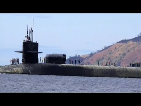 USS Michigan Nuclear Powered Ballistic Missile Submarine Headed To Korean Peninsula!