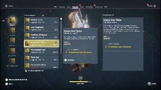 Assassin Creed origins smoke over water side quest walkthough