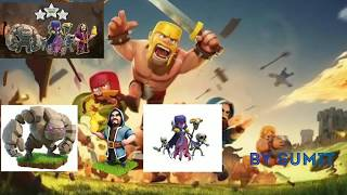"""Clash of clans """"Go.Wi.Wi Best Army for attack on the th10 in war"""""""