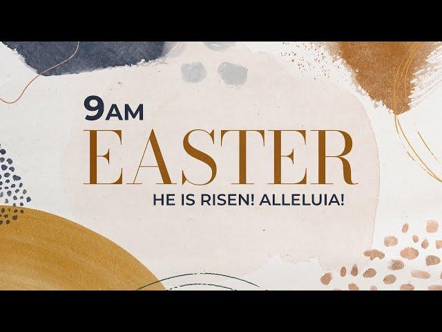 Easter Sunday Worship 9am