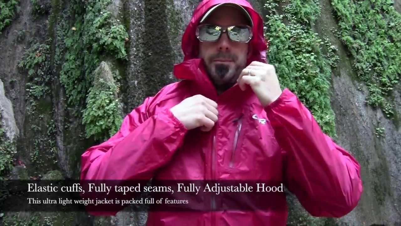 Gear Review Outdoor Research Helium Ii Waterproof Jacket