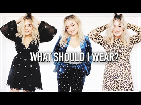 Help Me Decide What To Wear! CHRISTMAS Party Outfit Ideas // TRY ON HAUL 7