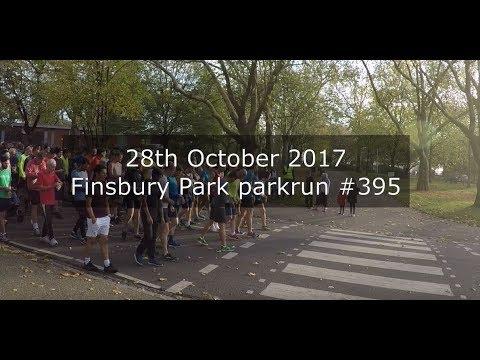 Finsbury Park parkrun #395 - October 28th 2017 (POV)