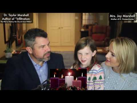 Family Advent Traditions: Preparing for Christmas with Taylor and Joy Marshall