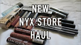 *NEW* Nyx Store Haul NYX Lingerie I New Shades I New Products & More!