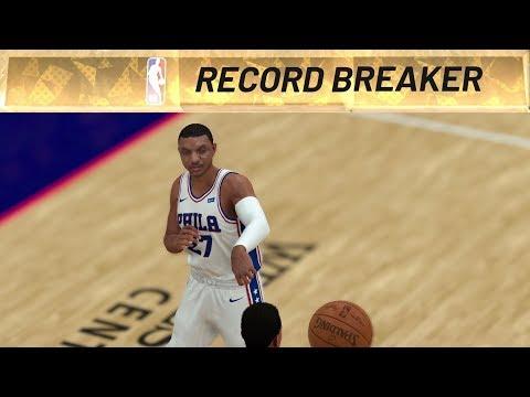 NBA 2K19 My Career EP 50 - Single Season Steals Record!
