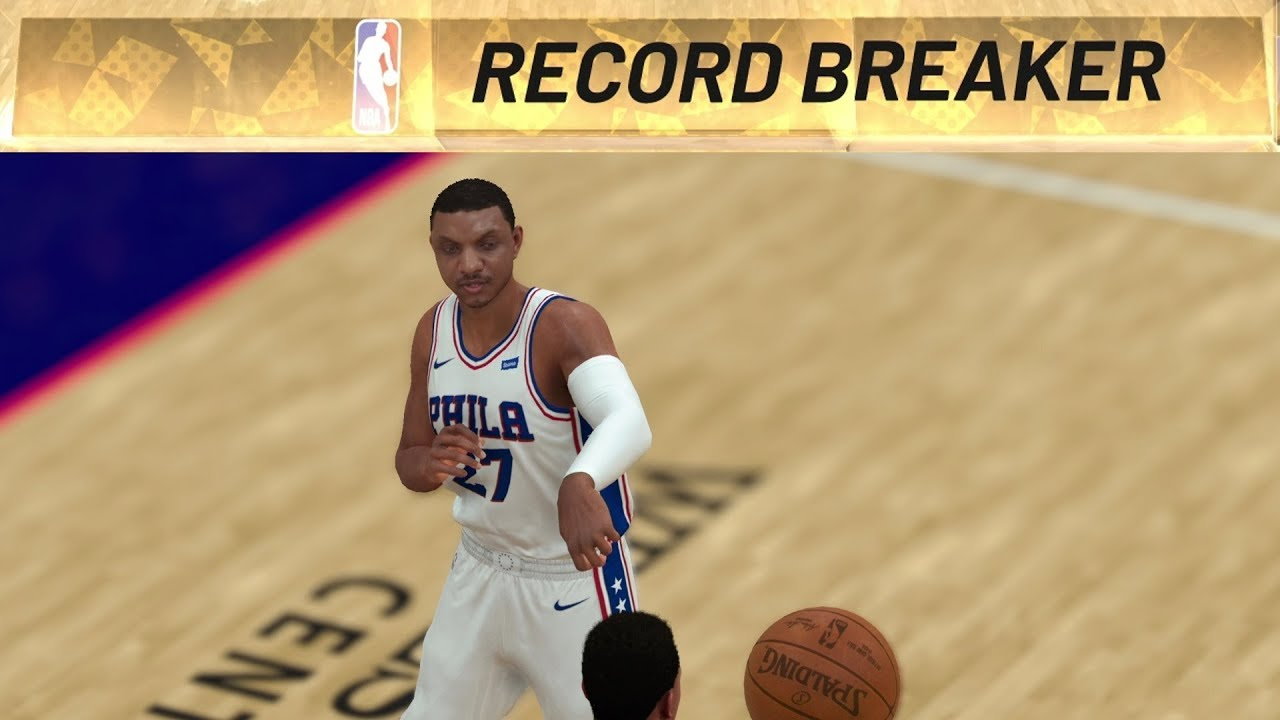 NBA 2K19 My Career EP 50 - Single Season Steals Record!