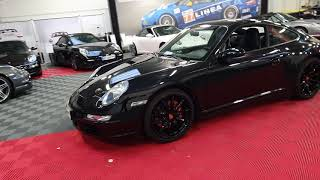 Porsche 997 Carrera 4S Full Black 355