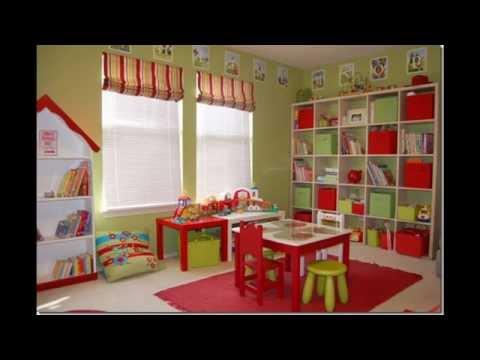 Kids playroom furniture design and decor ideas