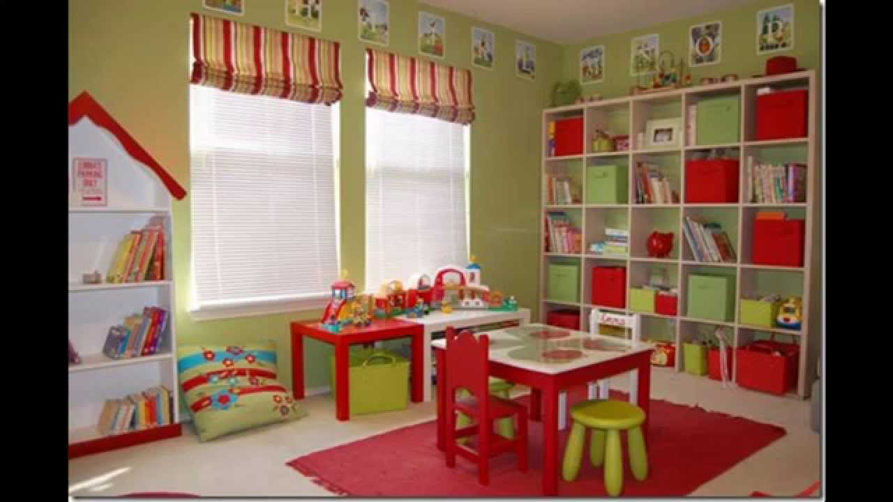 Kids playroom furniture design and decor ideas - YouTube
