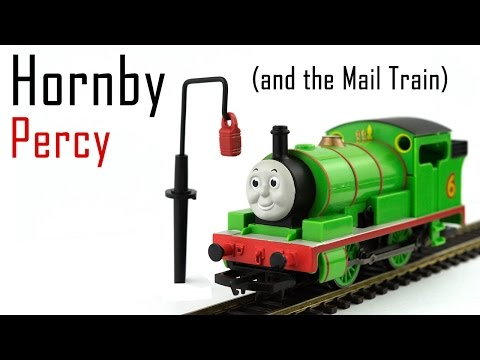 Unboxing the Hornby Percy from Thomas & Friends