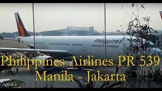 Video Philippine Airlines PR 539 Manila - Jakarta | Economy Class Flight Experience download MP3, 3GP, MP4, WEBM, AVI, FLV Juni 2018
