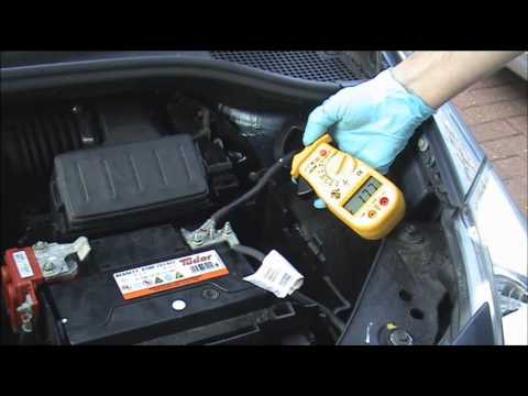 Car battery going flat how to check for a drain - YouTube