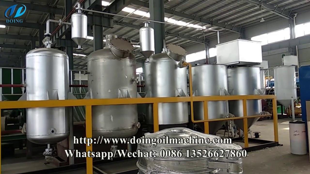 Mini edible oil refinery plant, Mini Crude Oil Refinery Plant , batch  cooking oil refining machine