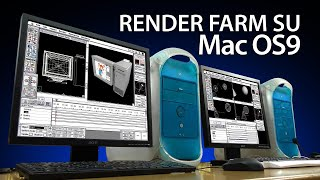 Render Farm su Mac OS 9 - Apple G3 Vive Ancora