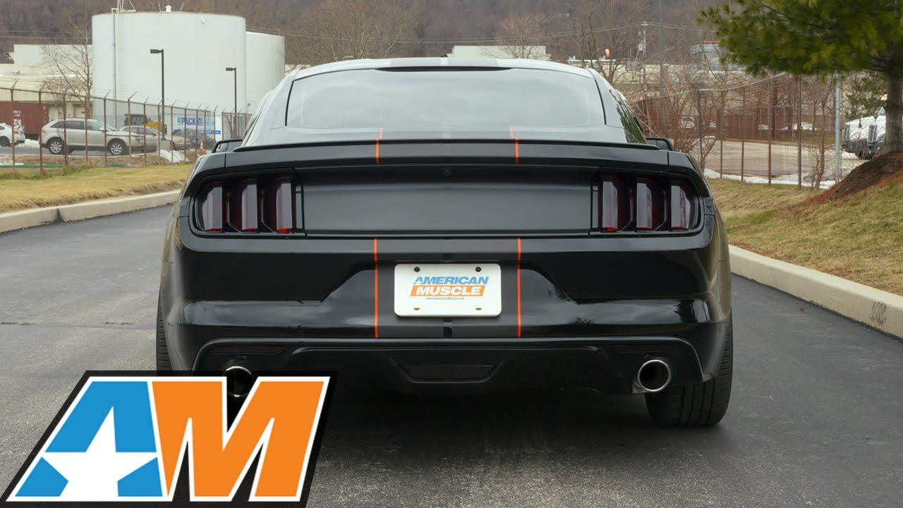 2017 Mustang V6 >> 2015-2017 Mustang (V6) Borla ATAK Catback Exhaust Sound Clip & Install - YouTube