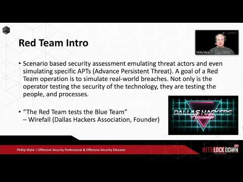 #HITBCyberWeek #CommSec D2 - Inside The Mind Of A Threat Actor: Beyond Pentesting