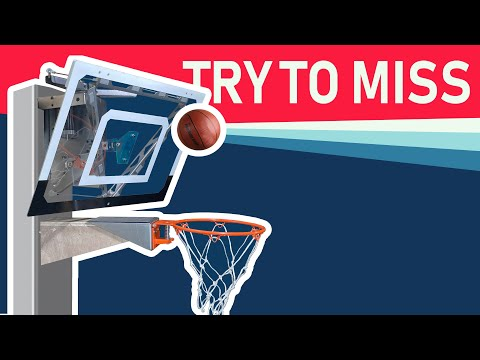 My robotic basketball hoop wont let you miss