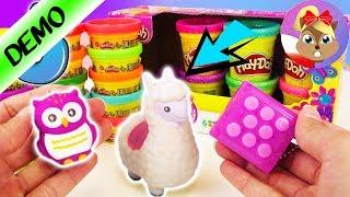 5 super NIESPODZIANEK: Squishy Lama, okropna sowa, Play Doh i antystresowe zabawki! | na prezent